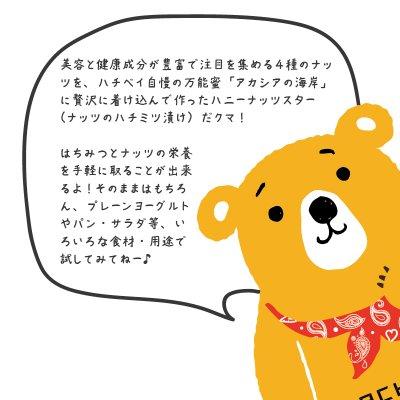 画像4: 【ナッツスター】ナッツの蜂蜜漬け (120g)