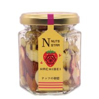 【ナッツの初恋】ナッツとドライ苺の蜂蜜漬け (120g)